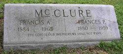 Frances P McClure