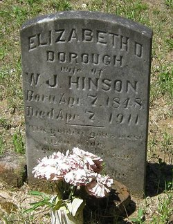 Elizabeth D. <I>Dorough</I> Hinson