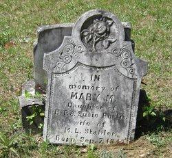 Mary M. <I>Portis</I> Stabler