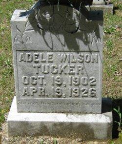 """Adele Wilson """"Addie"""" Tucker"""