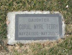 Coral Myrl Terry