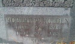 Robert Wesley Holden