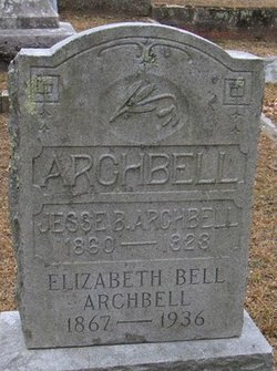 "Charity Elizabeth ""Lizzie"" <I>Bell</I> Archbell"