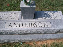 Elma <I>Carter</I> Anderson