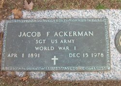 Jacob F. Ackerman
