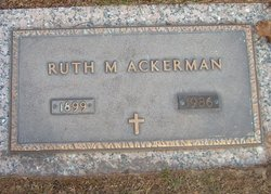 Ruth M. Ackerman
