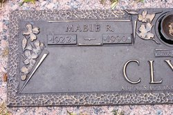 Mable <I>Ragsdale</I> Clyce
