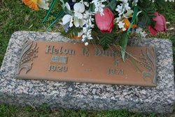 "Susie Helon ""Sissy"" <I>Norman</I> Duncan"