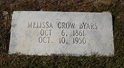 Melissa <I>Crow</I> Byars