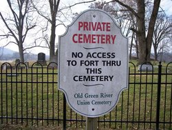 Old Green River Union Cemetery