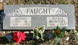Ida May <I>Cathers</I> Faught