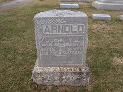 """Amantha Jane """"Mattie"""" <I>Foster</I> Arnold"""