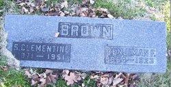 Sarah Clementine <I>Bowman</I> Brown