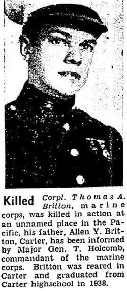 Corp Thomas A Britton