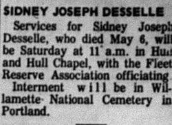 Sidney Joseph Desselle