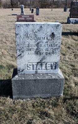 Jemima Newell <I>Ratliff</I> Staley