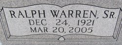 Ralph Warren Norman, Sr