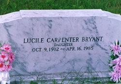 Lucile Bessie <I>Carpenter</I> Bryant