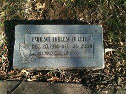Evalyn Hailey Allen