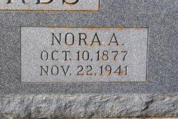Nora A <I>Saunders</I> Edwards