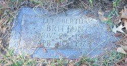 Lue Bertha <I>Williams</I> Britton