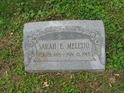 Sarah Elizabeth <I>Hawksley</I> Meletio