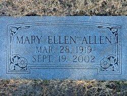 Mary Ellen <I>Gossage</I> Allen