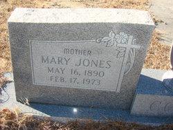 Mary <I>Jones</I> Cone