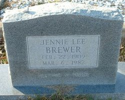 Jennie Lee <I>Key</I> Brewer