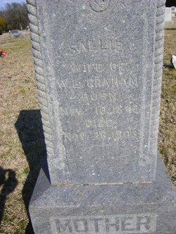 """Sarah """"Sallie"""" <I>Simmons</I> Graham"""
