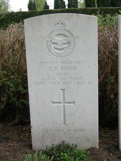 Sergeant (Pilot) Alfred Thomas Fone