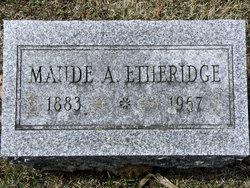 Maude Agnes <I>Rice</I> Etheridge