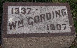 William Cording