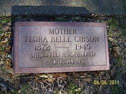 Flora Belle <I>Tanner</I> Gibson