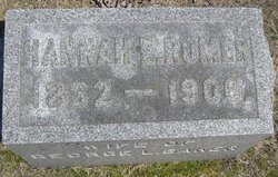 Hannah E. <I>Romer</I> Baker