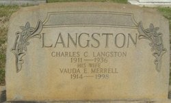 Vauda E <I>Merrell</I> Langston