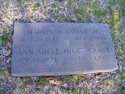 Ann Adele <I>Hicks</I> Crane