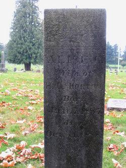 Alice Carey <I>Earley</I> Horton