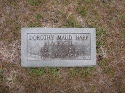 Dorothy Maud <I>Harp</I> Blackwell
