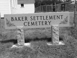 Baker Settlement Cemetery