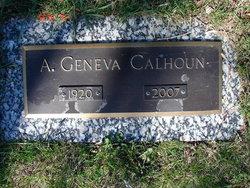 A. Geneva <I>Adams</I> Calhoun
