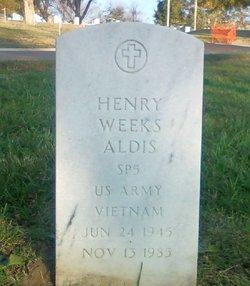 Henry Weeks Aldis