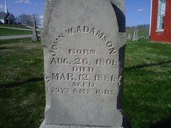 John Wesley Adamson, Sr