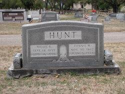 """Frances M. """"Fannie"""" <I>Warren</I> Hunt"""