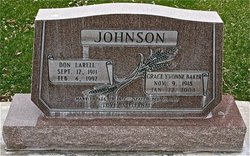 Don Larell Johnson