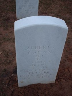 Albert I Cahan