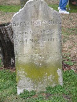 Sarah <I>Henry</I> Bell