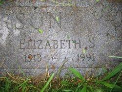 Mrs Elizabeth S Peterson