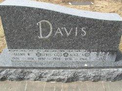 Alice A Davis