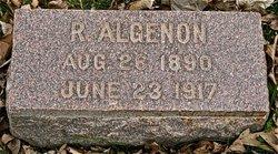 R Algenon Maycock
